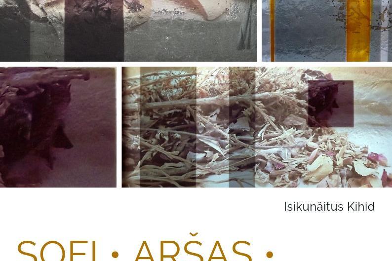 """Näitus """"Kihid"""" - Sofi Aršas - EELK Viimsi Püha Jaakobi kirik"""