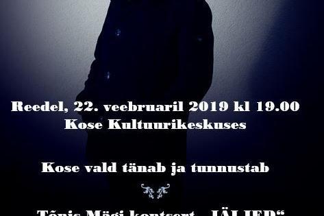 EESTI VABARIIGI 101.AASTAPÄEVAL PÜHENDATUD KONTSERTAKTUS - Kose Kultuurikeskus