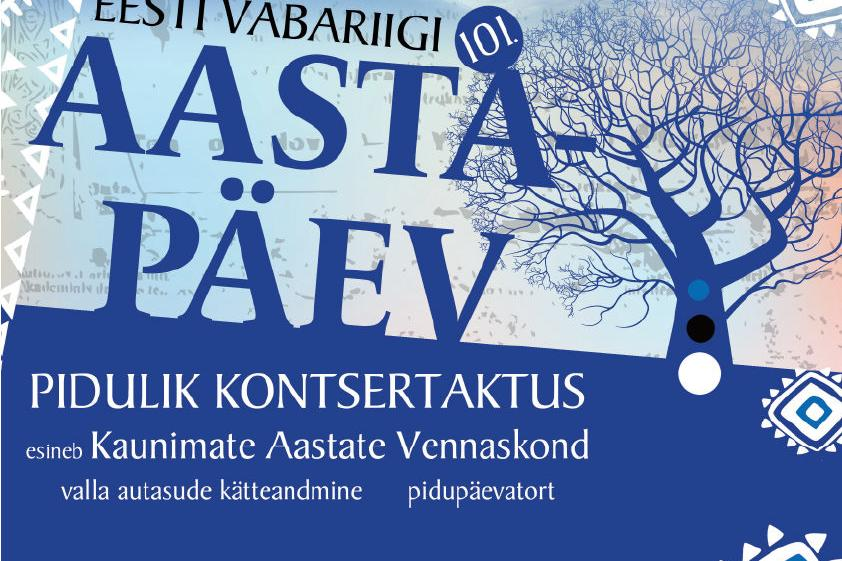 Eesti Vabariik 101 Pidulik Kontsertaktus - Saku Gümnaasium