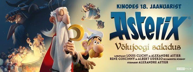 """Animafilm """"Asterix: Võlujoogi saladus"""" - Jõgeva Kultuurikeskus"""