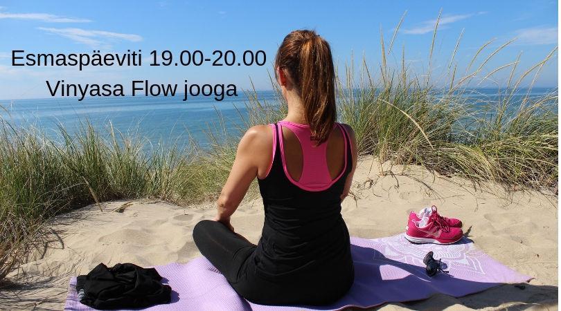 Vinyasa Flow jooga - Vääna-Jõesuu Külaselts