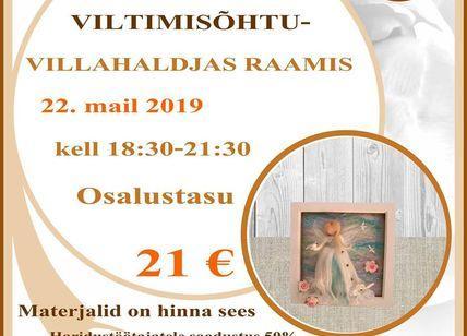 Tabasalu käsitöökambris: villahaldjas raamis - Tabasalu käsitöökamber (Sarapuu 12