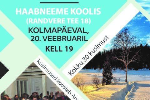 Viimsi Mälumäng IV etapp - Haabneeme Kool, Randvere tee 18
