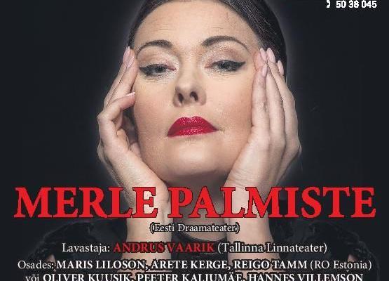 """Komöödiateatri etendus """"Maria Callase meistriklass"""" - Jõgeva Kultuurikeskus"""