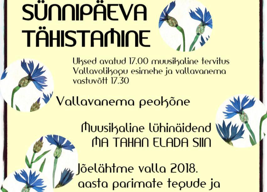 Eesti Vabariigi tähistamine 22.02.2019 kell 17.00 Loo keskkooli saalis - Loo Keskkool
