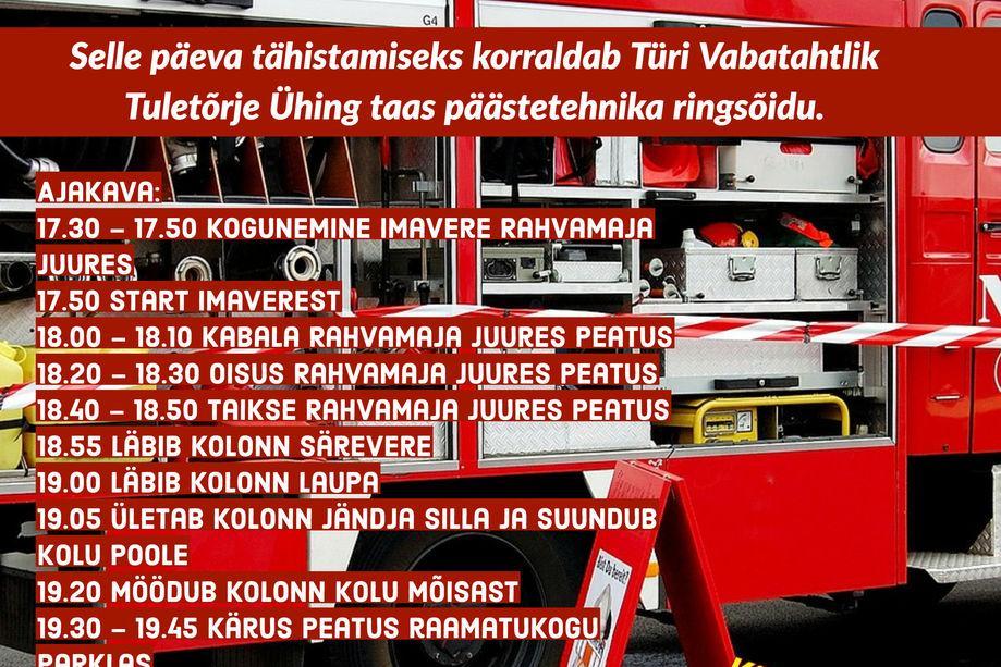 Üle-euroopaline 112 päev Türi vallas! - Türi Kultuurikeskus