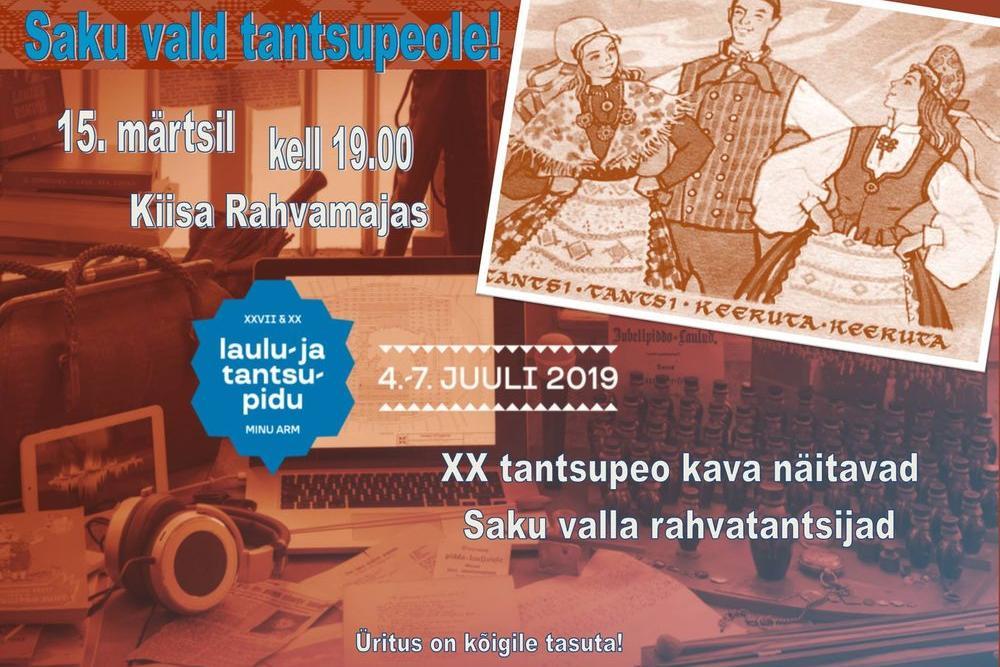 SAKU VALD TANTSUPEOLE! - Kiisa Rahvamaja
