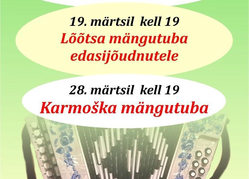 Karmoška mängutuba Türi kultuurikeskuses - Türi Kultuurikeskus