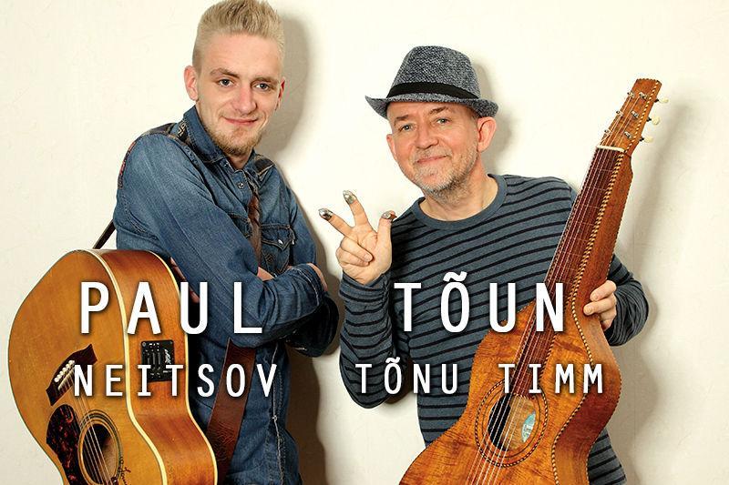 """Paul Neitsov ja Tõnu """"Tõun"""" Timm plaadiesitluskontserdid """"Sul annan andeks kõik"""" - Türi Kultuurikeskus"""