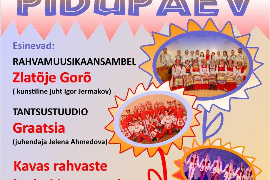 Suur rahvuskultuuride pidupäev Türi kultuurikeskuses - Türi Kultuurikeskus
