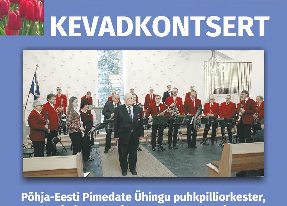 Kevadkontsert - Kultuurikeskus Lindakivi
