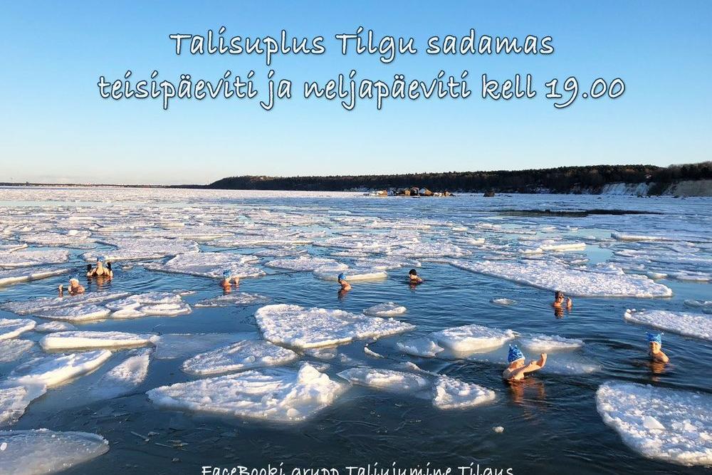 Talisuplus Tilgu sadamas - Tilgu sadam