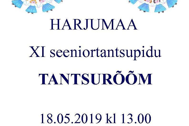 "HARJUMAA XI SEENIORTANTSUPIDU ""TANTSURÕÕM"" - Loo Staadion"