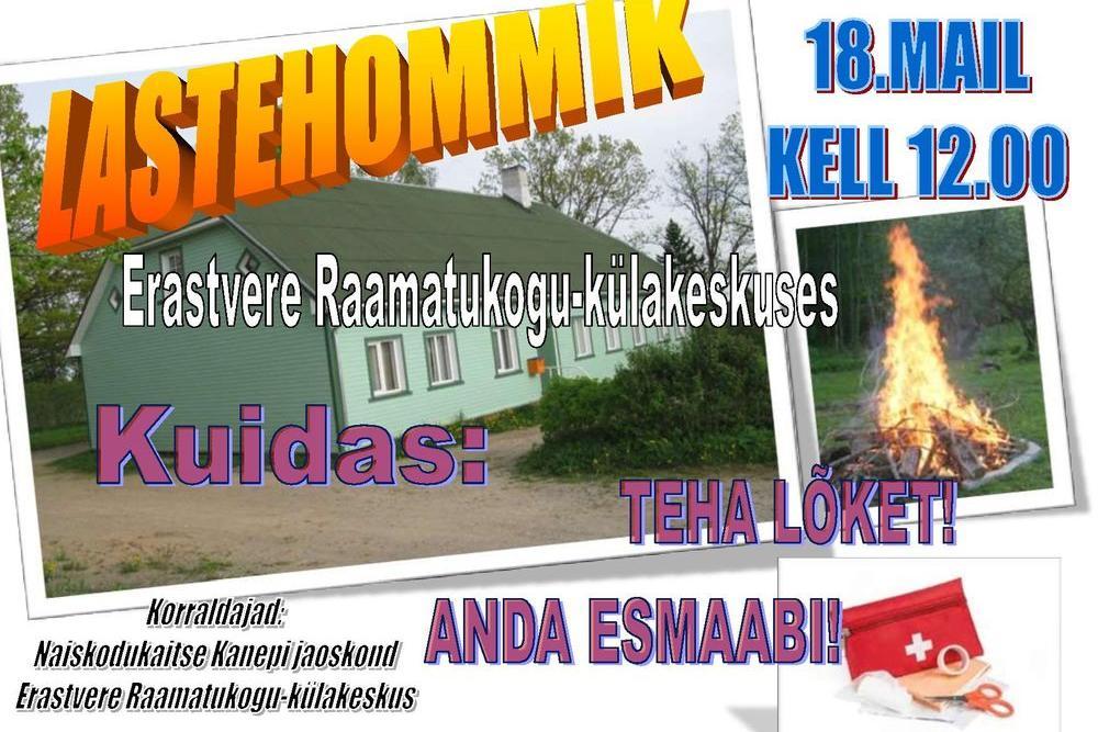LASTEHOMMIK - Erastvere Raamatukogu-Külakeskus