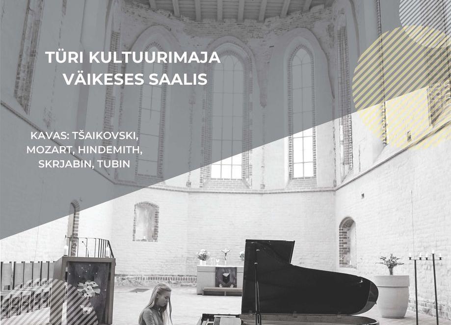 Pianist Liisa-Maria Marrandi kontsert - Türi Kultuurikeskus väike saal