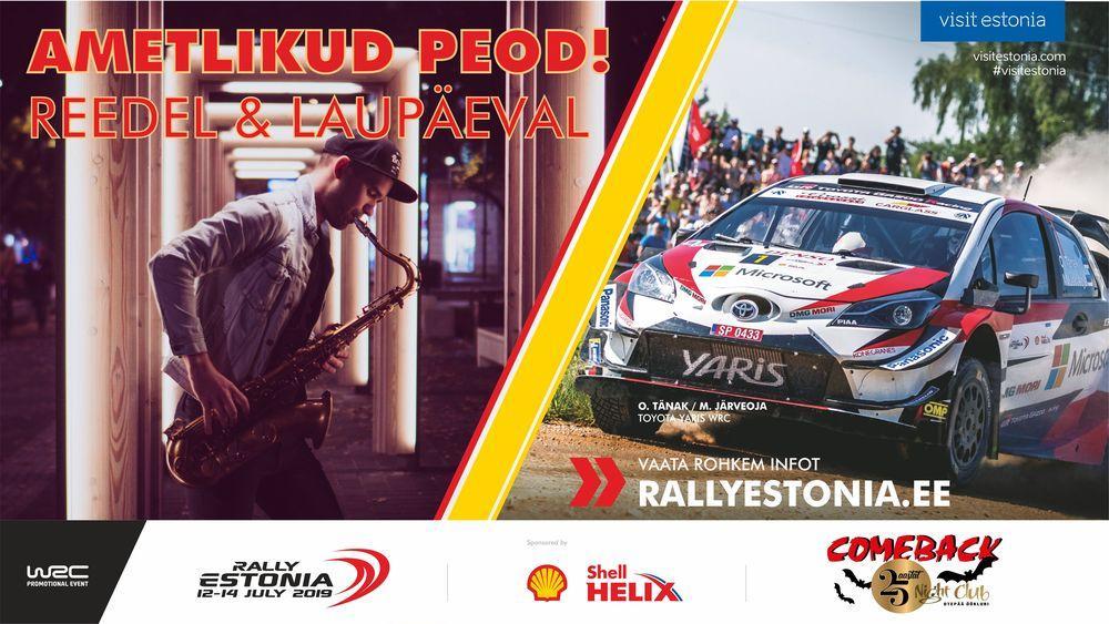 Shell Helix Rally Estonia ametlikud peod reedel ja laupäeval! - Comeback