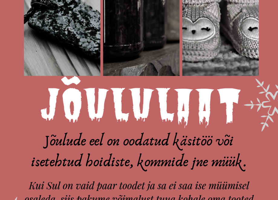 Jõululaat - Kumna Kultuuriait