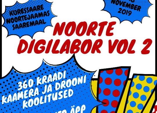 Digilabor vol 2 - Kuressaare Noorte Huvikeskus