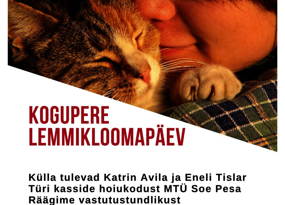 Kogupere lemmikloomapäev Türi Raamatukogus - Türi raamatukogu