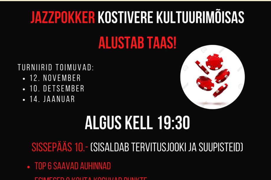Mõisa JazzPokker - Kostivere Kultuurimõis