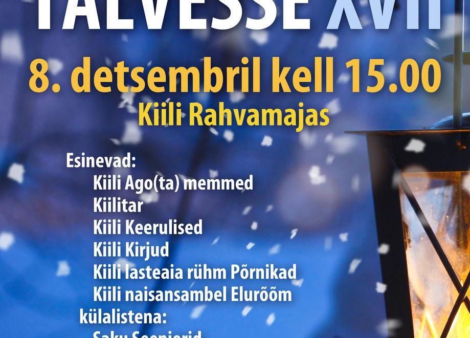 Tantsuga Talvesse XVII - Kiili Rahvamaja