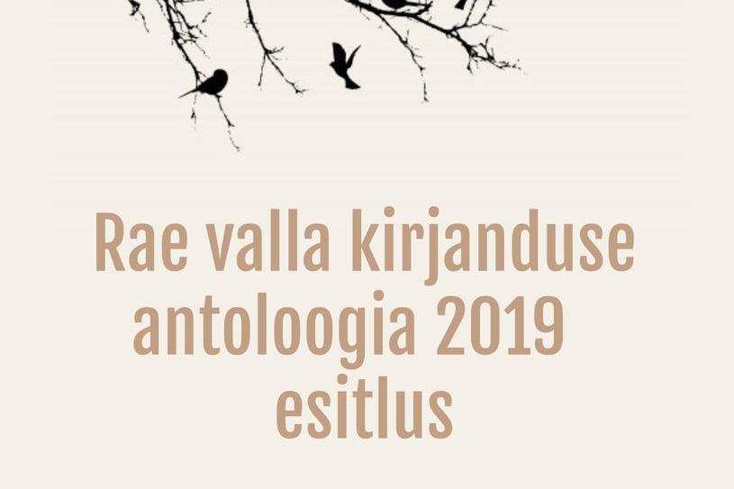 Rae valla kirjanduse antoloogia 2019 esitlus  - Vaida Raamatukogu
