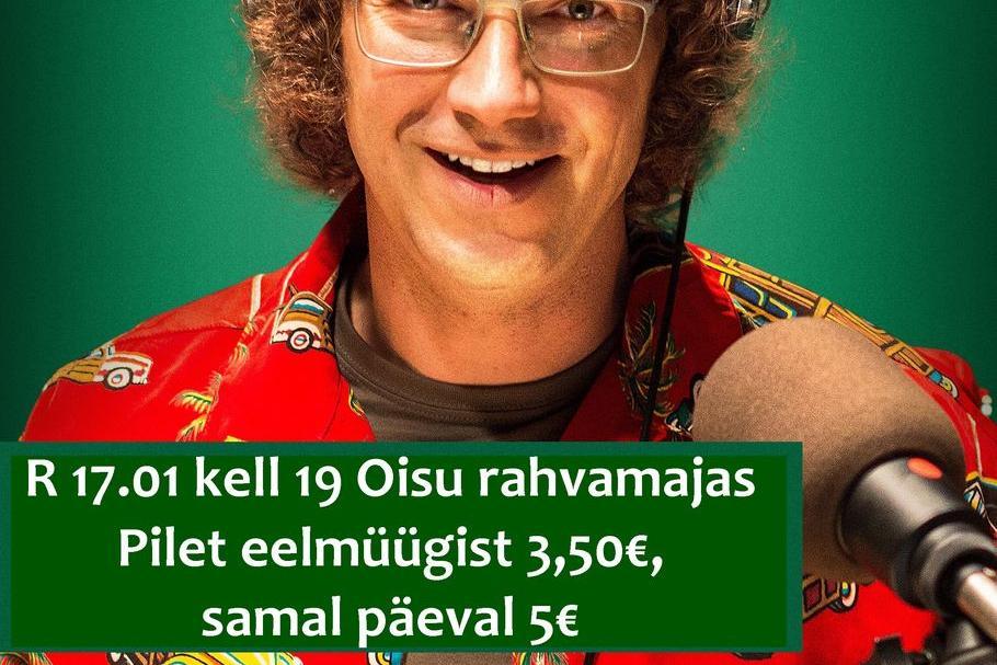 """Kinoõhtu Oisu rahvamajas- """"Ühemeheshow"""" EST 2019 - Oisu rahvamaja"""