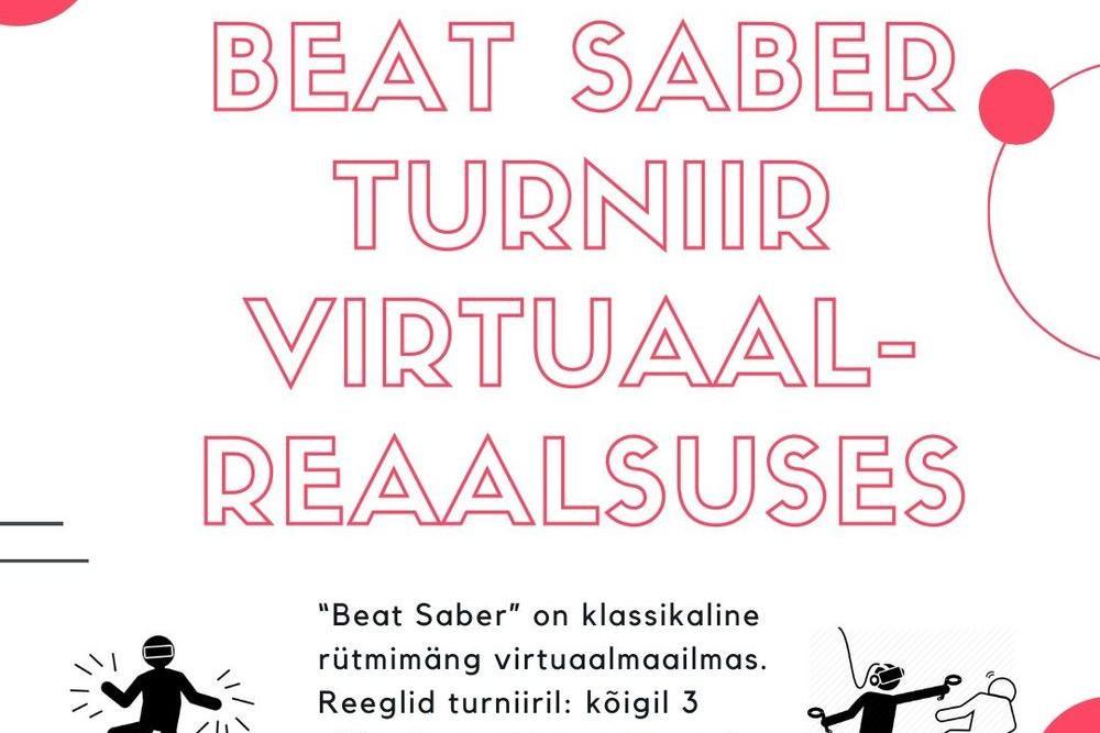Beat saber turniir virtuaalreaalsuses - Kostivere Noortekeskus