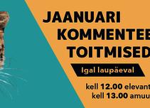 Jaanuarikuu kommenteeritud toitmised - Tallinna Loomaaed / Tallinn Zoological Gardens