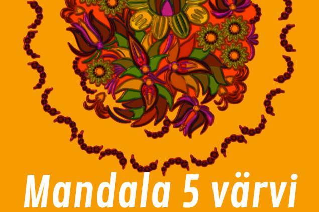 Mandala 5 värvi challenge - Kiili Noortekeskus