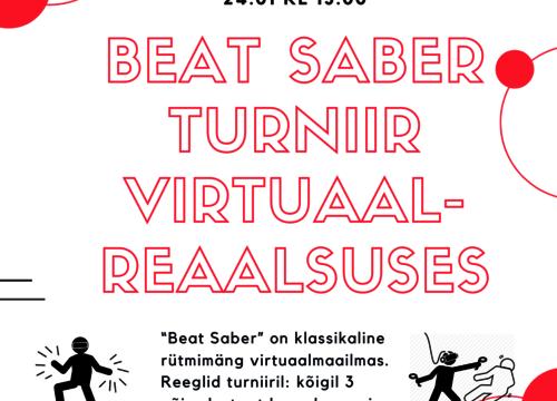 Beat saber turniir - Loo Noortekeskus