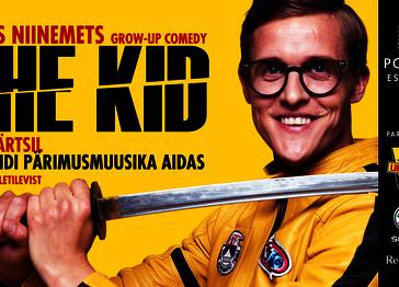 TÕNIS NIINEMETS grow-up comedy ''THE KID'' VILJANDIS - Viljandi Pärimusmuusika Ait