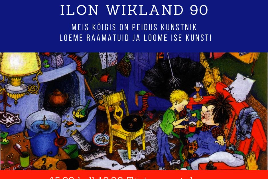 Lastehommik Ilon Wikland 90 - Türi raamatukogu