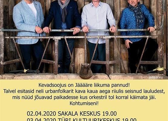 Jääääre kevadtuur- viiruseohu tõttu jääb ära! - Türi Kultuurikeskus