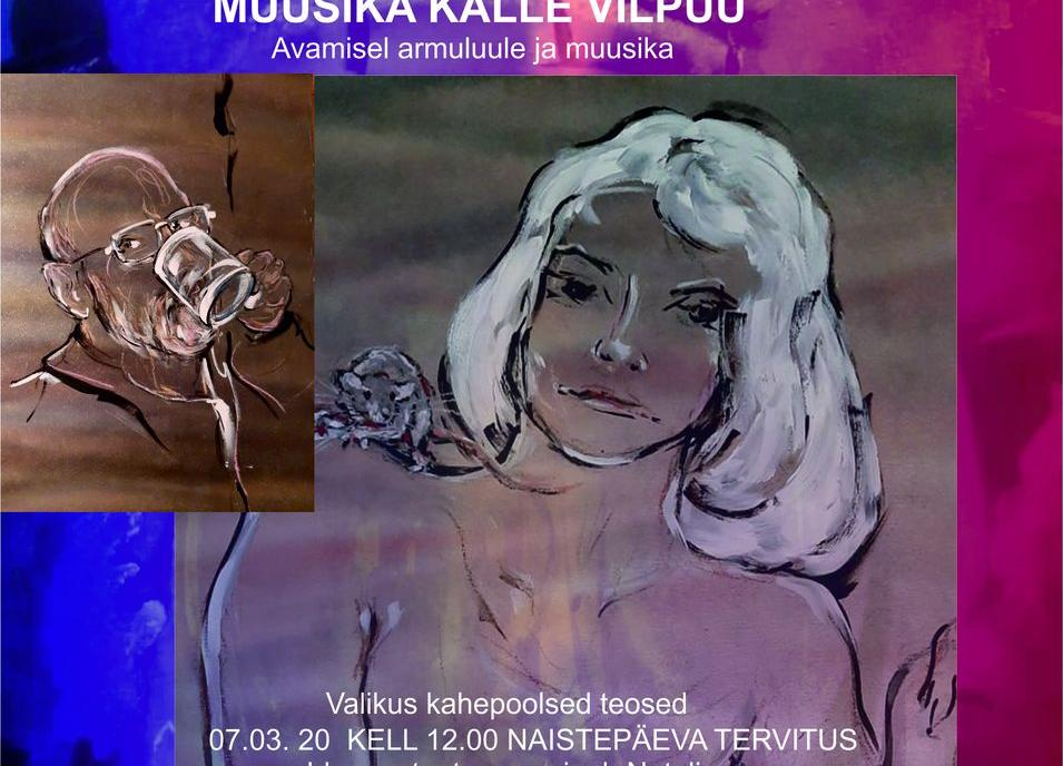 Tõnu Talve maalinäitus NSKNDLS-E E-ROOTKA - PKM Valge Saal