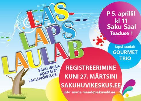 Las Laps Laulab 2020 kontsert-lauluvõistlus - SAKU SAAL (Saku Valla Kultuurikeskus)