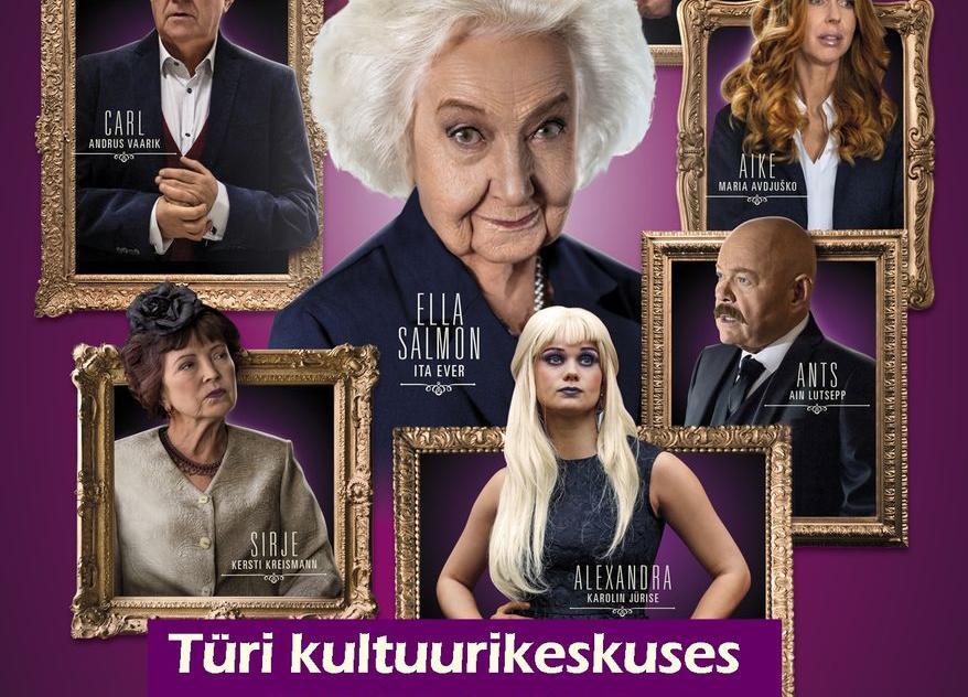 """Kinoõhtu Türi kultuurikeskuses- """"Salmonid 25 aastat hiljem"""" - Lükkub edasi! - Türi Kultuurikeskus"""