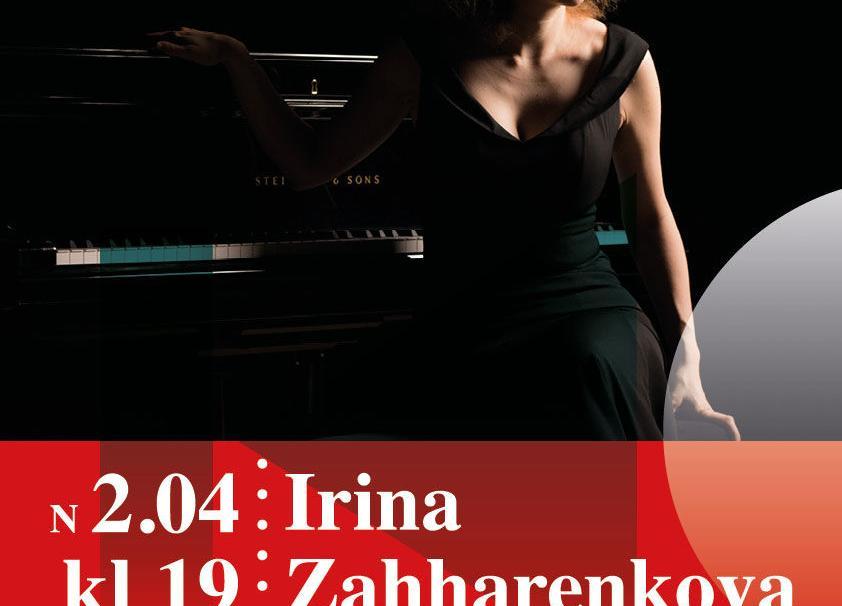 IRINA ZAHHARENKOVA KONTSERT NEEME RAHVAMAJAS 02.04.2020 KELL 19.00 - Neeme Rahvamaja