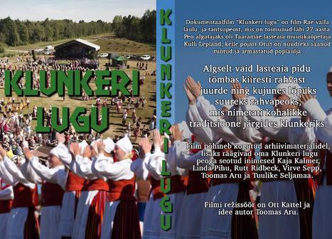 """Kino reede 2+2! """"Klunkeri lugu"""" - Rae Kultuurikeskus"""
