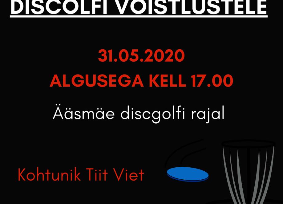 Discgolfi võistlused Ääsmäel 2020 - Ääsmäe Külaplats