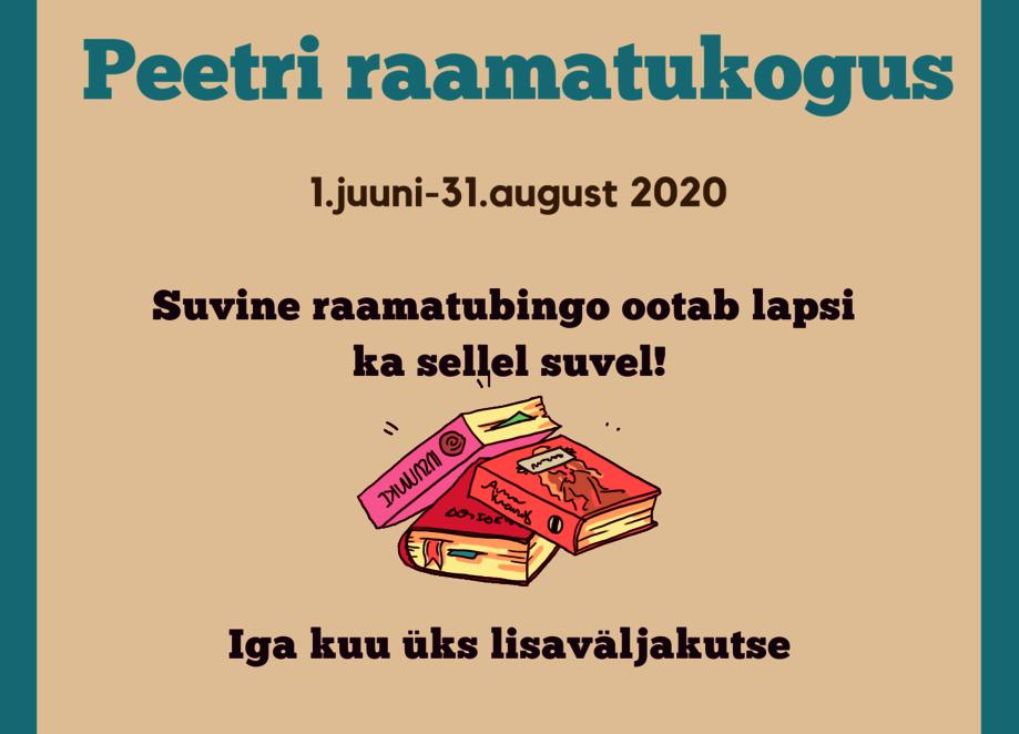 Suvelugemine 2020 - Peetri raamatukogu