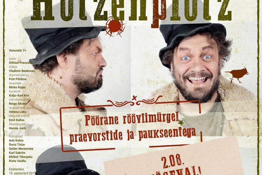 """Eesti Noorsooteatri etendus """"Röövel Hotzenplotz"""" - Jõgeva Kultuurikeskus"""