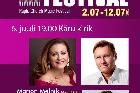 Kirikumuusika festival Kärus - Käru kirik