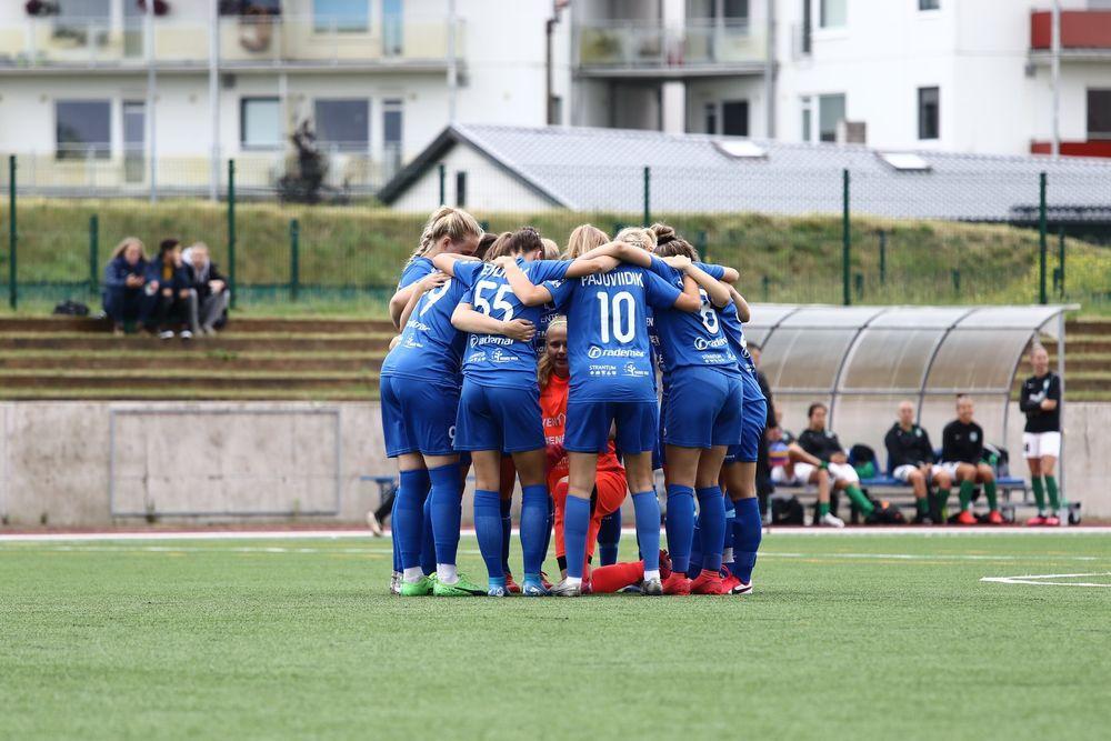 JK Tabasalu NAISKOND vs Tallinna FC Ajaxi ja Paide LN ÜN (N) - Tabasalu Arena