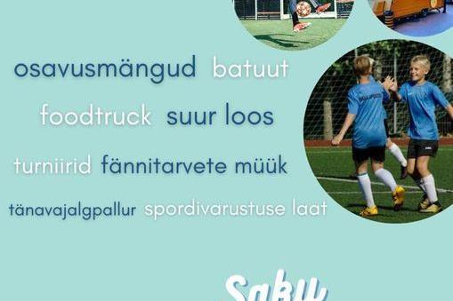 Saku jalgpallifestival - Saku Valla Spordikeskus