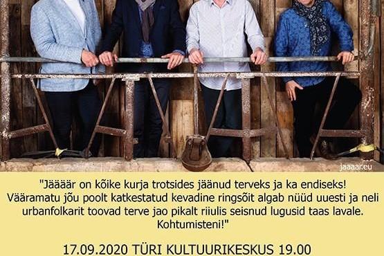 JÄÄÄÄR Türi kultuurikeskuses (asendus 03.04 kontserdile)  - Türi Kultuurikeskus