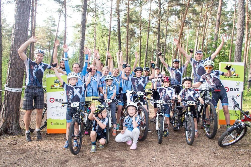 Porter Racing Laste Rattasari II ja III etapp - Rabametsa tervise- ja matkarajad