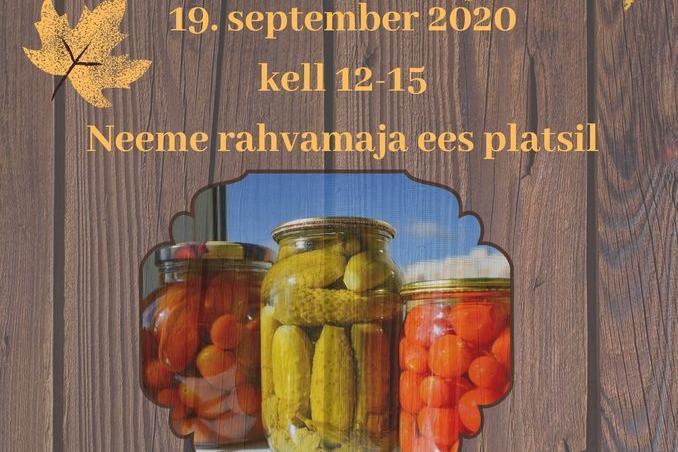 NEEME SÜGISLAAT 19.09.2020 - Neeme Rahvamaja