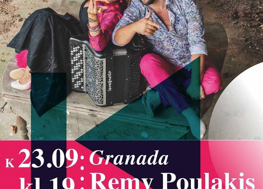 """Kontsert """"Granada"""" Remy Poulakis ja Sarah Laulan (Prantsusmaa) Türi kultuurikeskuses - Türi Kultuurikeskus"""