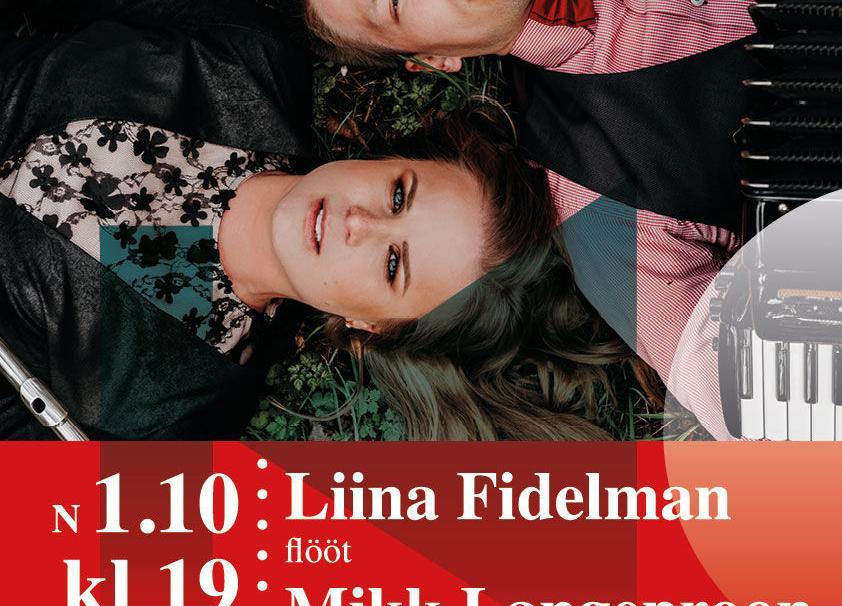 01.10.2020 KELL 19.00 RAHVUSVAHELISE MUUSIKAPÄEVA RAAMES/Esinevad  Liina Fidelman ja Mikk Langeproon - Neeme Rahvamaja